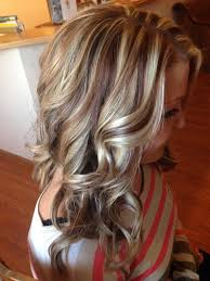 Hair Coloring Blonde And Red Highlights