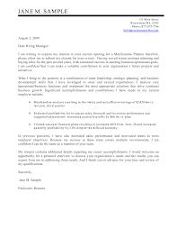 Franchise Operations Manager Cover Letter Evaluation Argument