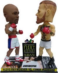 National Bobblehead HOF and Museum Floyd Mayweather vs. Conor McGregor  Mayweather vs McGregor Special Edition Dual Bobblehead - UFC vs. Boxen:  Amazon.de: Spielzeug