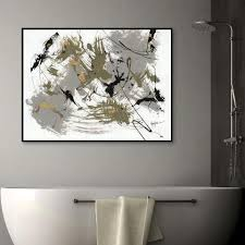 Our versatile collection also showcases a wide variety of innovative wallpapers for commercial settings. Black Gold 1 By Dan Houston Framed Canvas Wall Art World Market