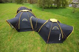Multiple Room Tents Modular Pod Tents Connect To Create Multi Room Camping Getaways