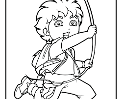 Dora The Explorer Coloring Pages Online Games Color Printable