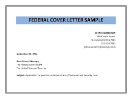 Federal Cover Letter Template Usa Jobs Cover Letter Cover Letter For