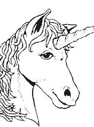 You can print or color them online at getdrawings.com for absolutely free. Fantasy Creatures Coloring Page Unicorn Head All Kids Network