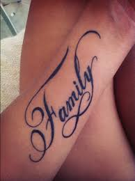 word tattoo designs.  Designs Family Words Tattoo Design For Men Forearm With Word Designs E