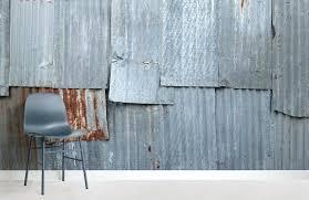 corrugated metal wallpaper corrugated panel textures room wall murals corrugated metal wallpaper uk