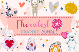 Animating with css @keyframes svg. The Cutest Free Graphic Bundle Bundle Creative Fabrica
