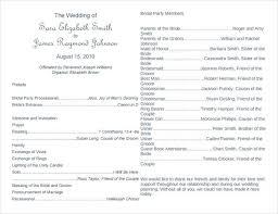 Fresh Wedding Ceremony Program Template Inspirational Best Word