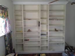 diy ikea billy bookcase built in bookshelves part 2