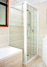sliding door shower enclosure framed glass sliding shower door 3 panel sliding corner square shower sliding sliding door shower enclosure