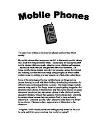 cell phone description essay the cell phone a 5 paragraph definition essay example