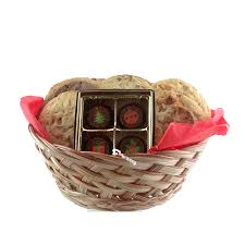 cookies cookies and holiday truffles gift basket