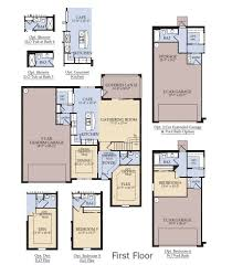Parker  Highland Homes  Florida Home BuilderFlorida Home Builders Floor Plans