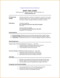 9 Free Combination Resume Template Skills Based Resume