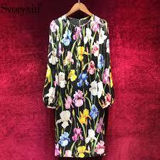 <b>2019 Svoryxiu</b> Runway Elegant <b>Autumn</b> Dress Women'S Vintage ...