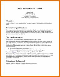 Retail Manager Resume Examples Retail Resume Example Retail Manager Cv Template Resume Examples 50