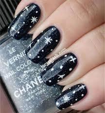 black nail polish designs for toes