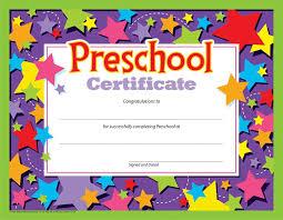 Preschool Graduation Certificate Editable Editable Certificate Template Free Download Fresh Preschool