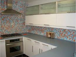 Kitchen Tile Design Mosaic Wall Tile   DIY This Look With A Custom Glass  Mosaic Tile