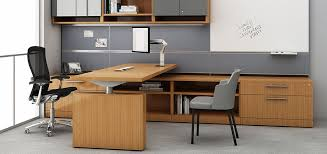 reff profiles height adjule desks and peninsulas for the private executive office by knoll