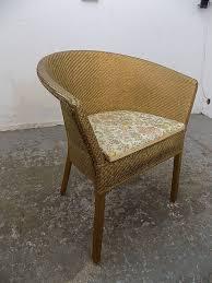 Small,vintage,1950u0027s,gold,wicker,arm Chair,bathroom,bedroom