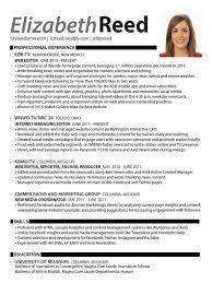 elizabeth reed digital journalist resume social media digital social media  - Digital Journalist Resume