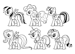 My Little Pony Coloring Pages Pdf Coloring Pages