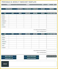 Payroll Time Sheets Free Biweekly Payroll Timesheet Template Arttion Co