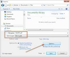 converting a word doent to pdf using the save as feature