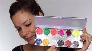 choose color palette easy day of the dead makeup tutorial perfect for