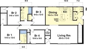 four bedroom modular home floor plans. rochester ranch floorplan by simplex modular homes four bedroom home floor plans s