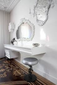 vanity with fold down mirror modern contemporary home furniture design with white vanity combine with charming makeup table mirror lights