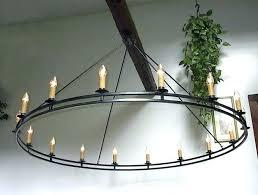 wrought iron candle chandelier lighting rustic wrought iron chandeliers hand forged signed custom wrought iron chandelier