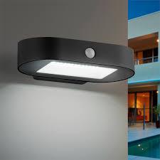 Verve Pendant Light Verve Design Black Payton Solar Wall Light With Sensor