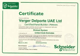 Verger Delporte Uae Limited Electrical And Mechanical