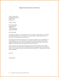 Thank You Resume Letters Resume Thank You Letter Format Job Interview For Your Time Co