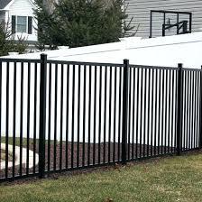 china flat top powder coated aluminium corrugated metal fence panels home depot me