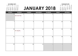 planning calendar template 2018 planner template 2018