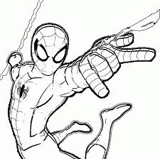 Spiderman Coloring Pages Online Futuramame