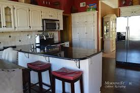 Professional Painting Kitchen Cabinets Custom Cabinet Refinishing Projects