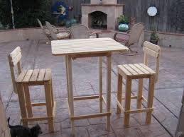 Wood Tall Patio Table  Google Search  Wood Chairs Stools And Outdoor Pub Style Patio Furniture