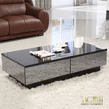 mirror effect furniture. Stylish Black Mirror Effect Glass Living Room Coffee Table Storage Can Be Delivered Free Installation Package Furniture E