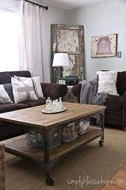 decorating with a brown sofa living