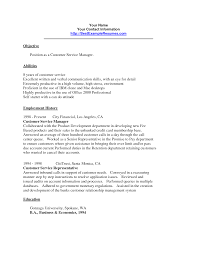 Fabulous How To Do A Customer Service Resume For Assistant Manager