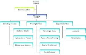 Small Organizational Chart Of Travel Agency Download
