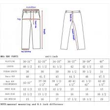 Military Size Chart Seibertron Mens Tactical M65 Bdu Pants Military Army