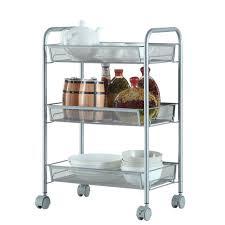 office rolling cart. Metal Mesh Storage Rolling Cart W/ 3 Tier Shelf Trolley Home Office  Organizer Office Rolling Cart B