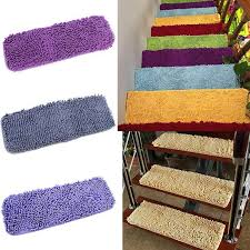 non slip individual indoor carpet stair tread mats step stair step rugs
