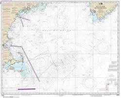 Gulf Of Maine Chart Amazon Com Synthetic Media Noaa Chart 13009 Gulf Of Maine
