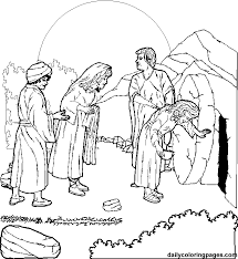 Small Picture jesus resurrection coloring pages Crucifixion and Resurrection
